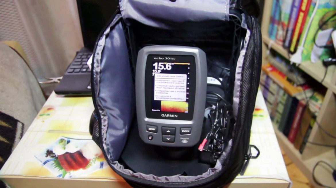 echo 301 dv fishfinder under 200