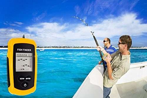 portable handheld fish and depth finders